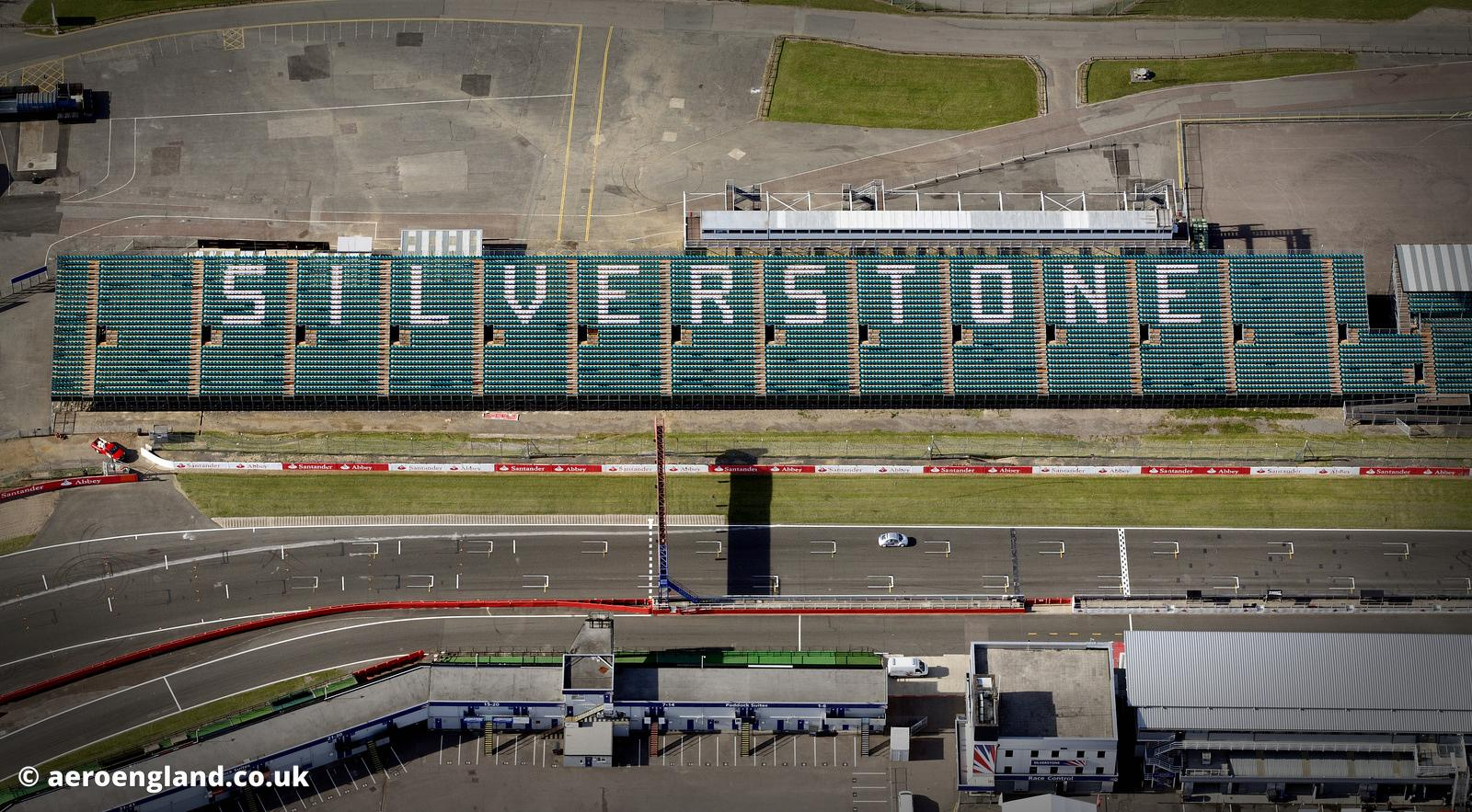 aeroengland | aerial photograph of Silverstone Circuit ...