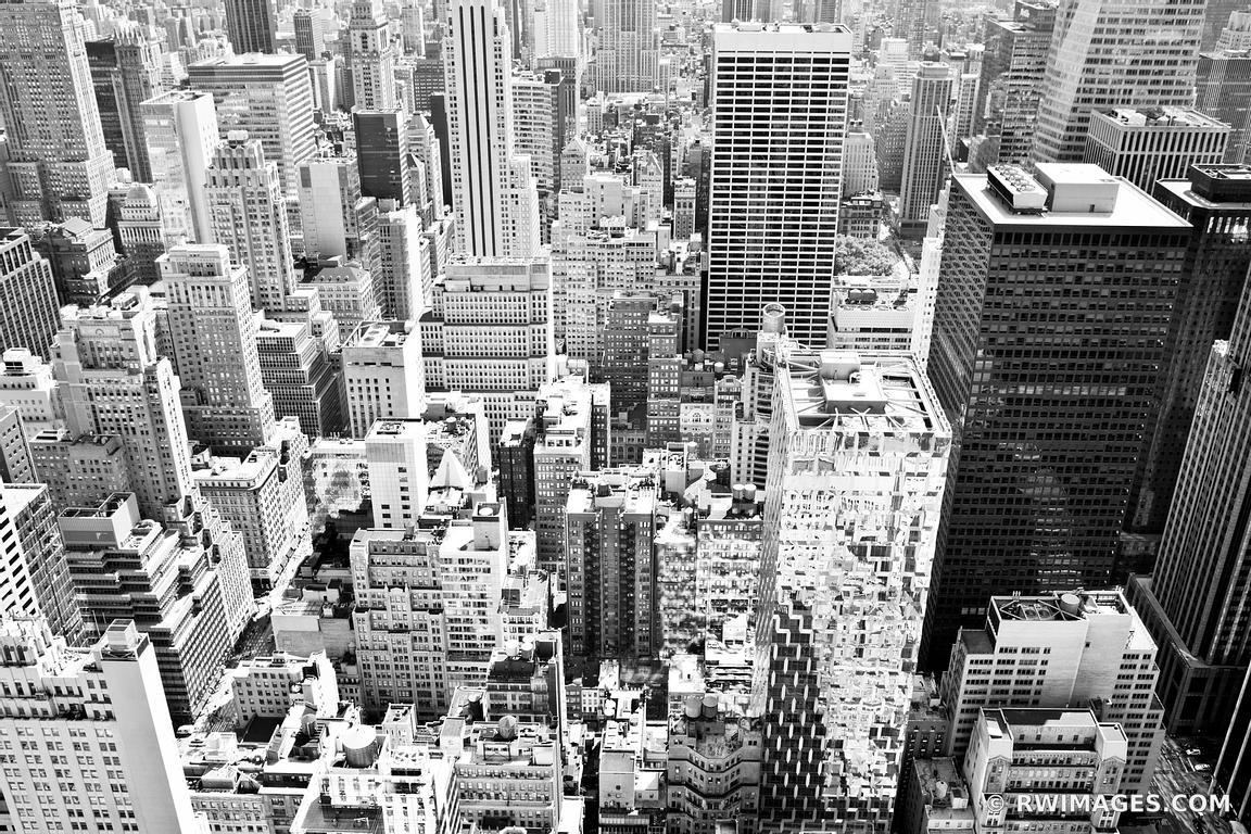 Photo Canvas Metal Acrylic Print   MANHATTAN NEW YORK CITY BLACK ...