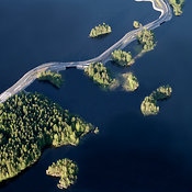 Northern Savonia aerial photos