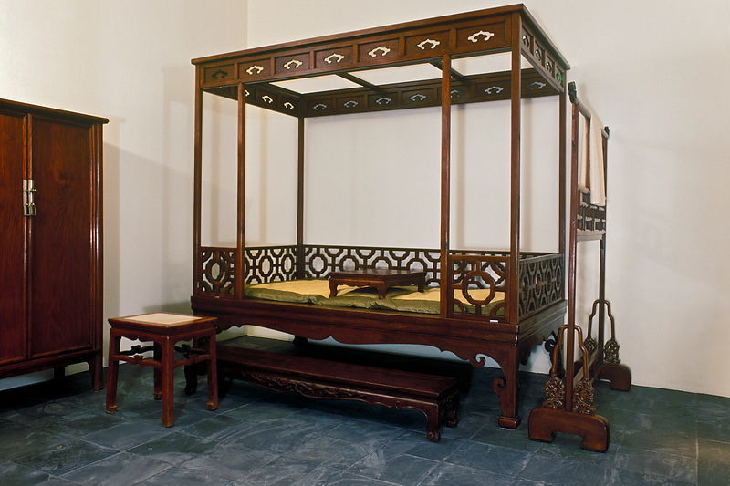 Chinese canopy bed & Michael Freeman Photography | Chinese canopy bed
