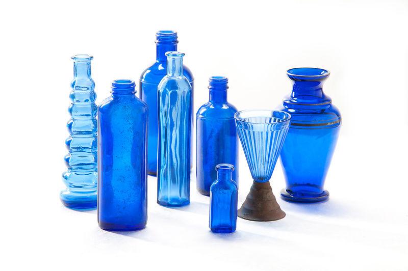 Antique Blue Glass Bottles Glass Blue Antique Bottles
