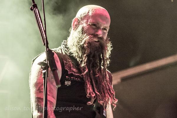 Chris Kael, bass, Five Finger Death Punch, Aftershock 2013