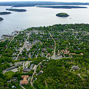 Bar Harbor from the West