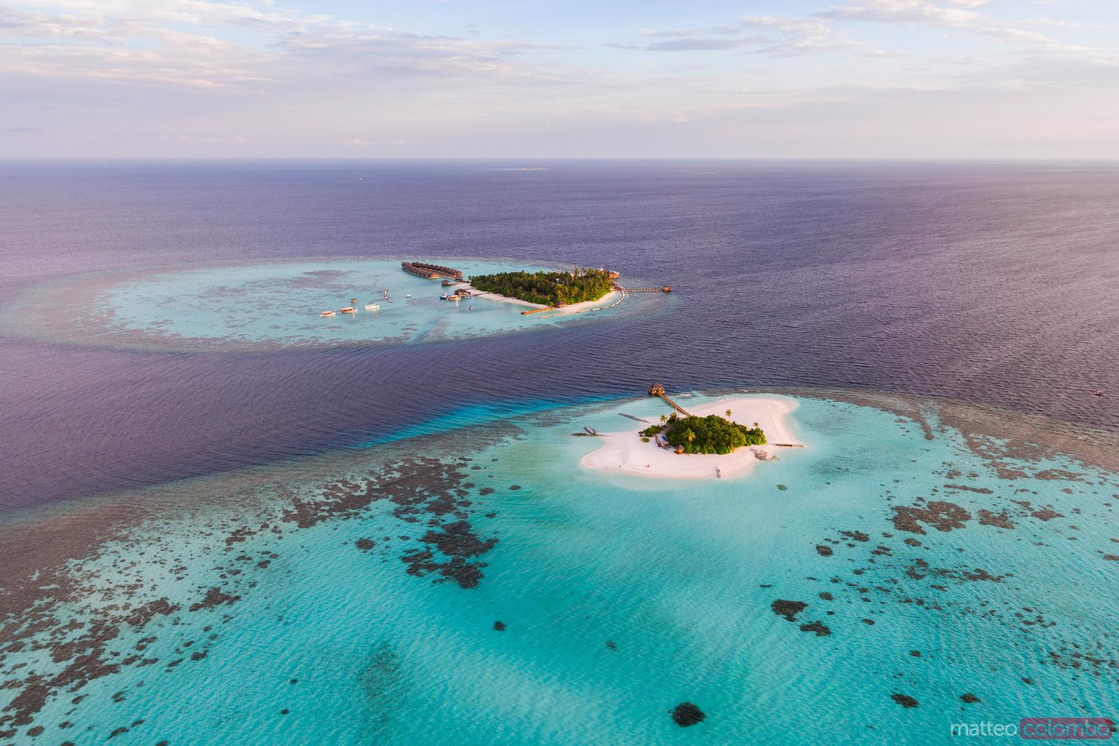 Drone-View of the Islands