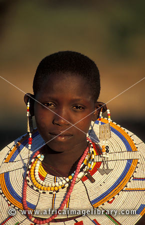 Images Of And Pictures Maasai Girl Tanzania The Africa Image Library