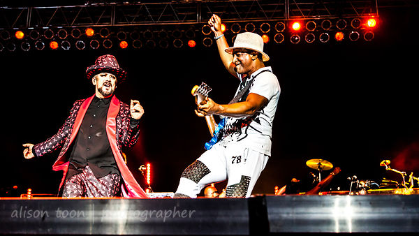 Boy George, Culture Club, and they are back with a force! Thunder Valley!