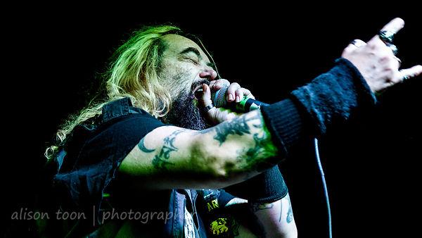 Max Cavalera, vocals, Soulfly