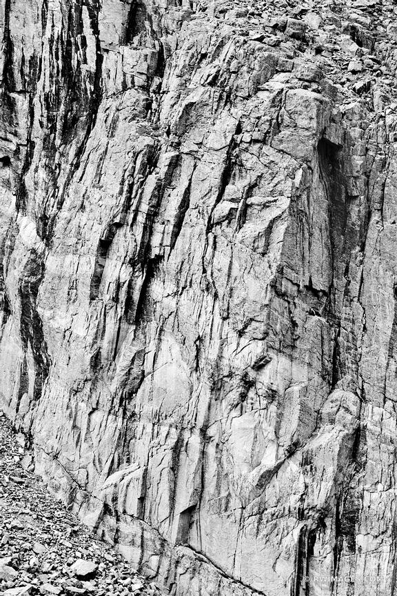 Photo Print of ROCK WALL NEAR CHASM LAKE ROCKY MOUNTAIN NATIONAL ...