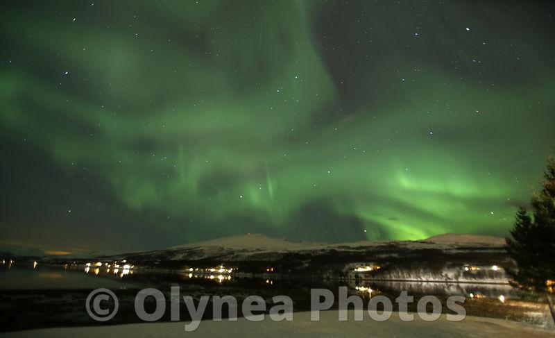 aurores boreales norvège