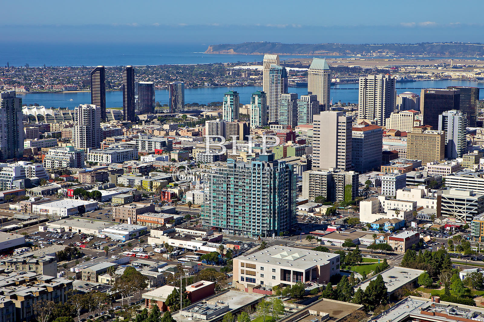 Brent Haywood Photography Downtown San Diego Aerial Photos