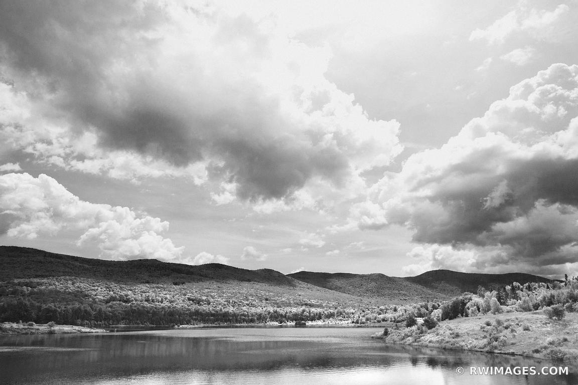 Photo print of blueberry lake vermont black and white for Buy fine art photography
