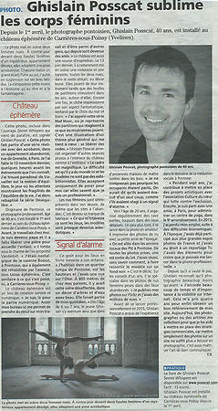 interview photographe de nu ghislain posscat la gazette 95 2