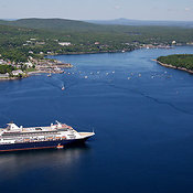 The MS Maasdam Visits Bar Harbor, Mount Desert Island