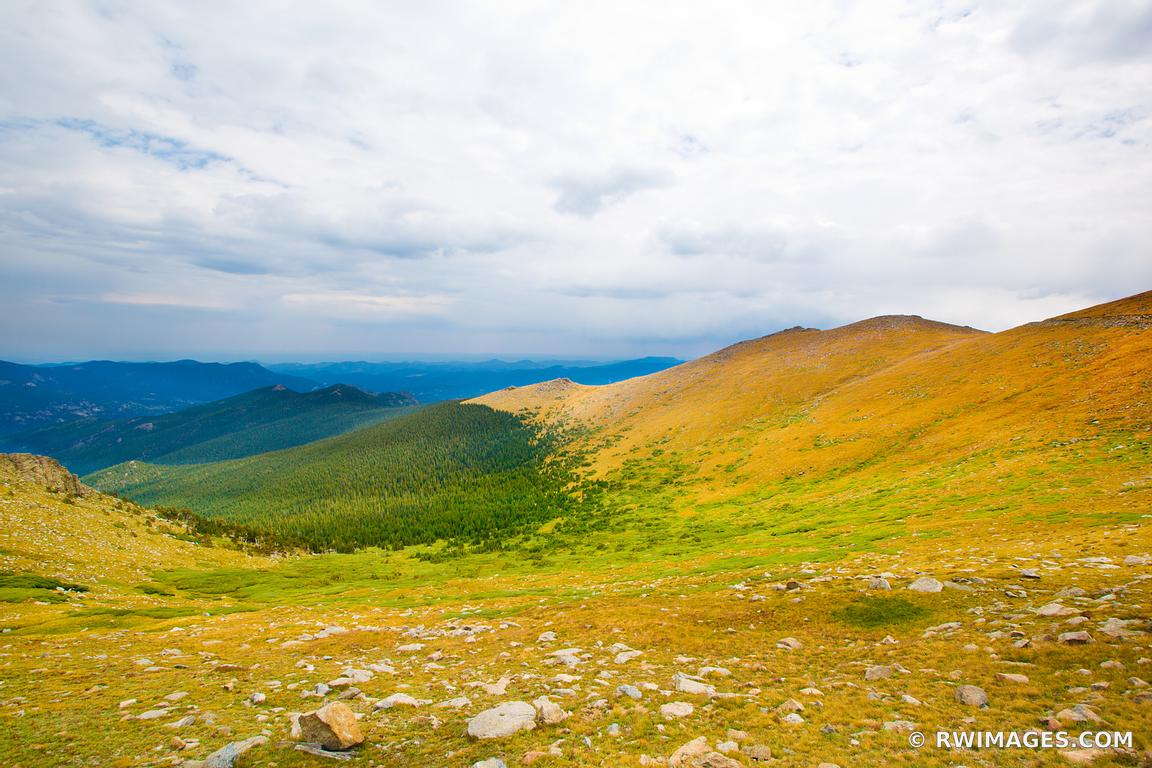 Photo Print of MOUNTAIN TUNDRA LANDSCAPE FALL COLORS MOUNT EVANS ...