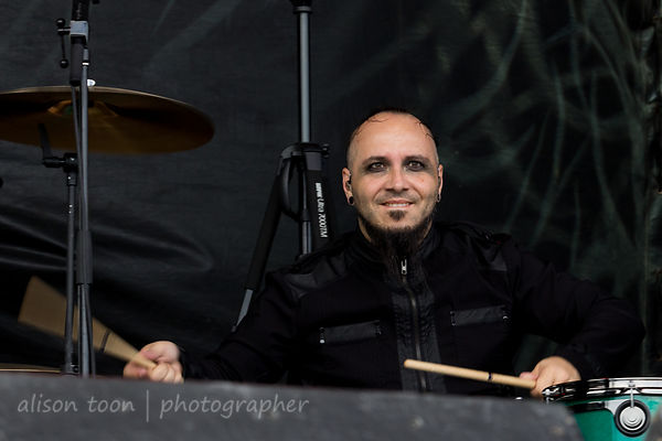 Brian Steele Medina, drums, Gemini Syndrome