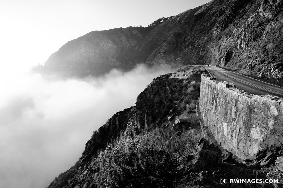 Photo print of big sur foggy pacific coast highway 1 for Fine art photography sales