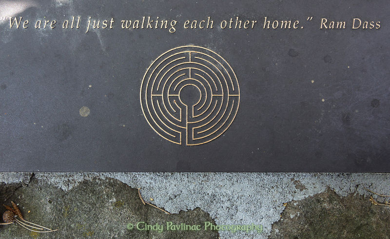 Walking labyrinth quotes