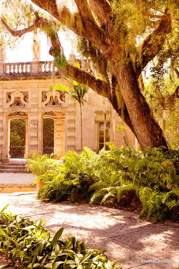 Photo Print of VILLA VIZCAYA MUSEUM AND GARDENS COCONUT GROVE MIAMI ...
