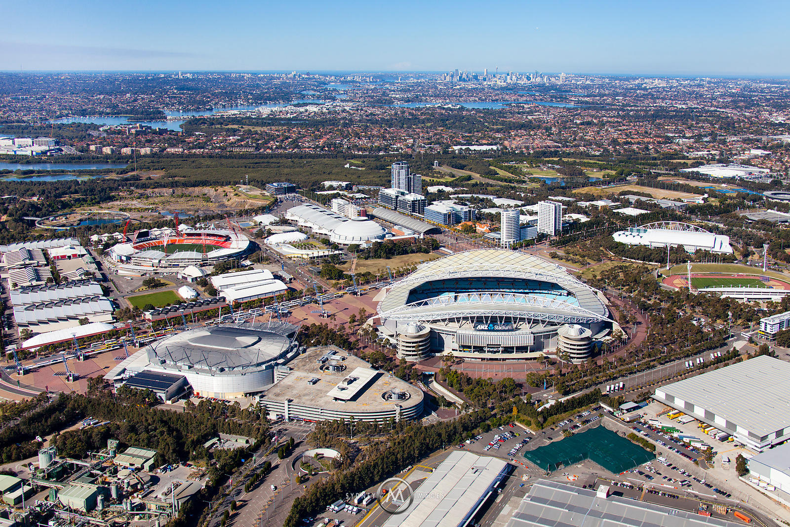 Sydney Olympic Park Homebush Bay