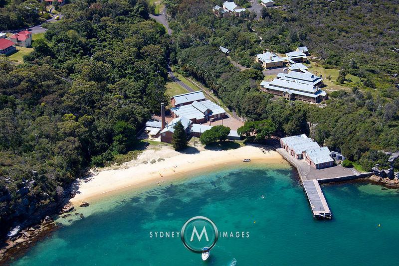 sydney aerial photography q station. Black Bedroom Furniture Sets. Home Design Ideas