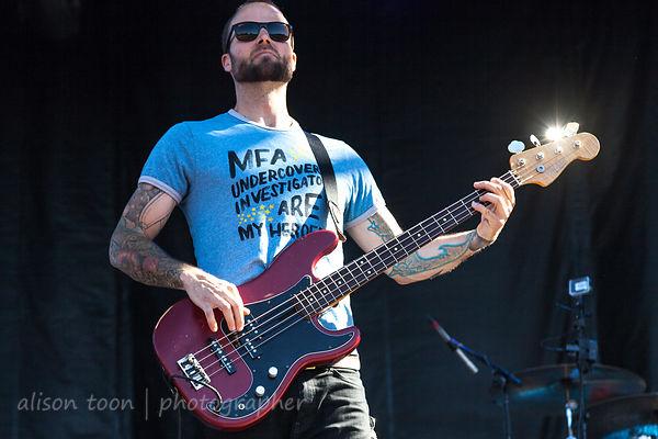 Rich Meyer, bass, Highly Suspect