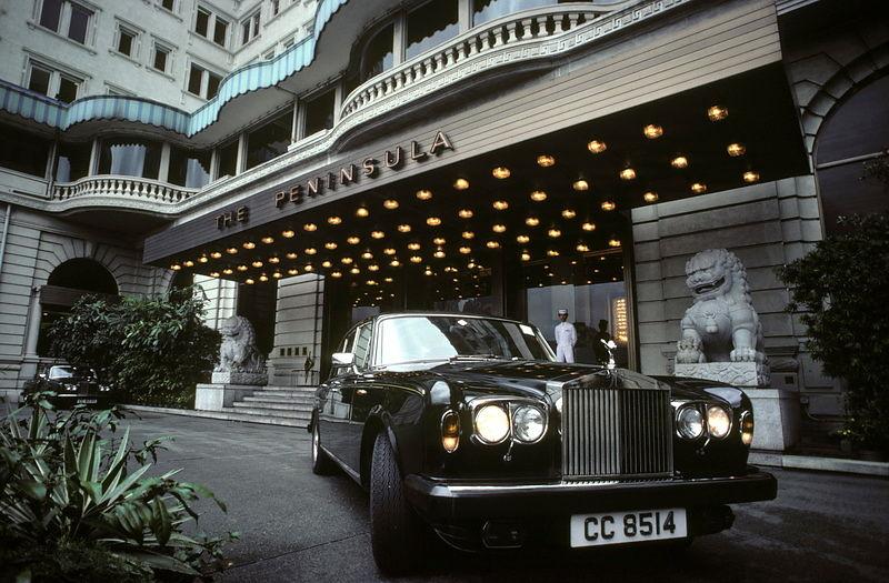 Michael Freeman Photography 6477 32 Peninsula Rolls Royce
