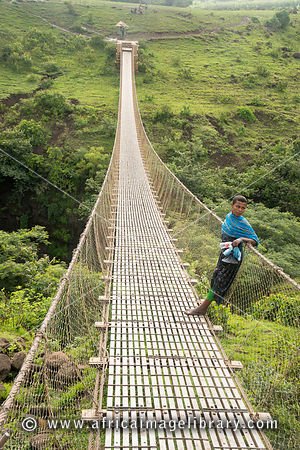 Photos And Pictures Of Suspension Bridge At Blue Nile