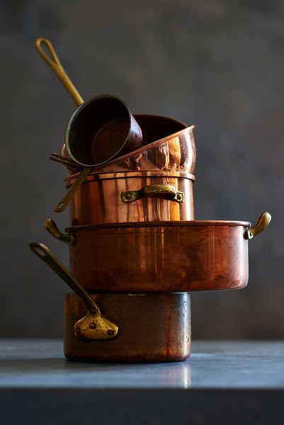antique copper pots - Copper Pots