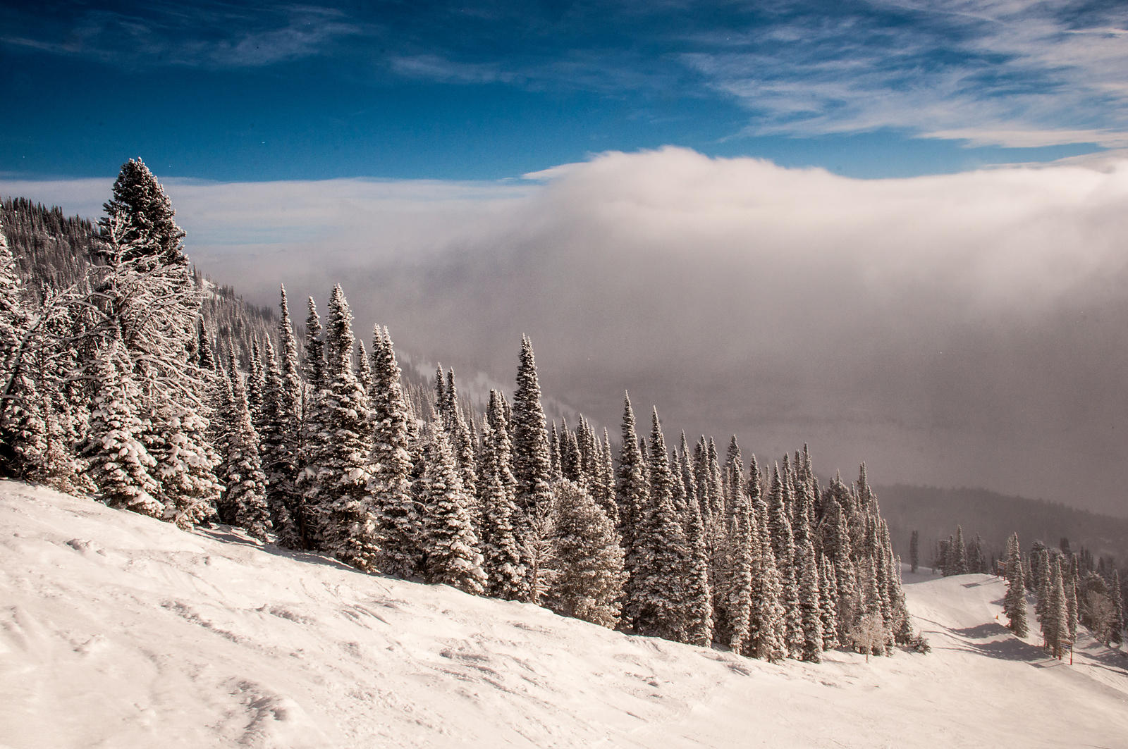 d´ardenne photography   weather inversion at jackson hole mountain
