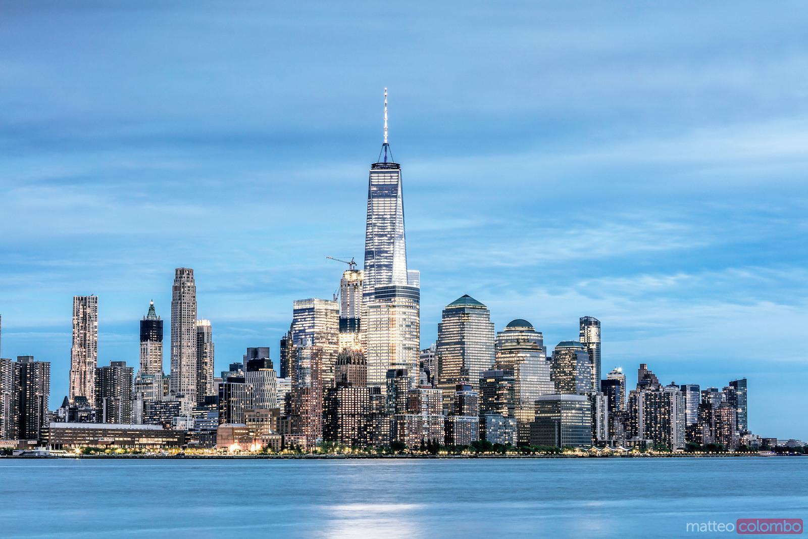 Matteo Colombo Travel Photography Lower Manhattan Skyline And
