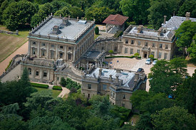 Cliveden House, aerial view
