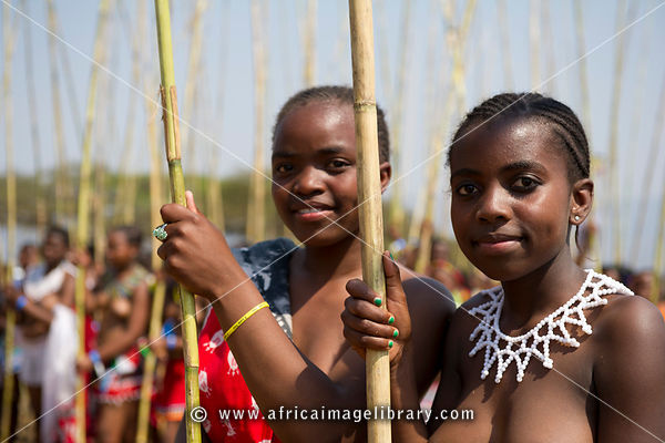 Busty zulu girls dancing topless at a ceremony 7
