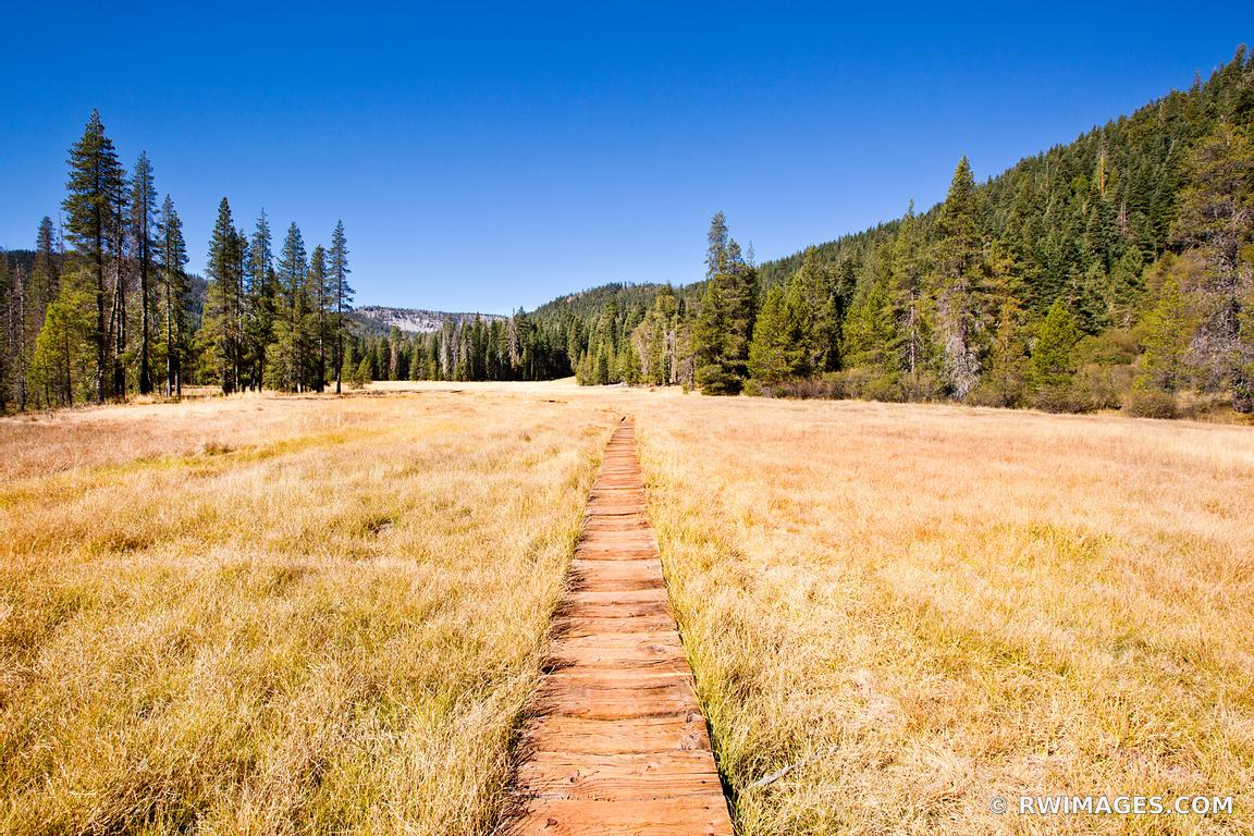 Photo Print of DEVILS KITCHEN TRAIL LASSEN VOLCANIC NATIONAL PARK ...
