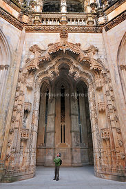 Capelas Imperfeitas (Unfinished Chapels). Batalha monastery, a UNESCO World Heritage Site. Portugal