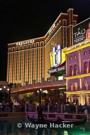 Treasure Island Hotel, The TI Hotel, Las Vegas Night Life,