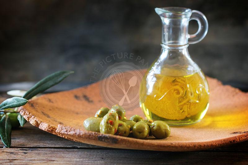 Глина и оливковое масло