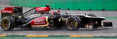 Kimi Raikkonen winning Australian Grand Prix