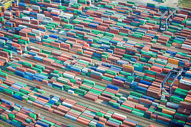 Containers, Thamesport, Isle of Grain