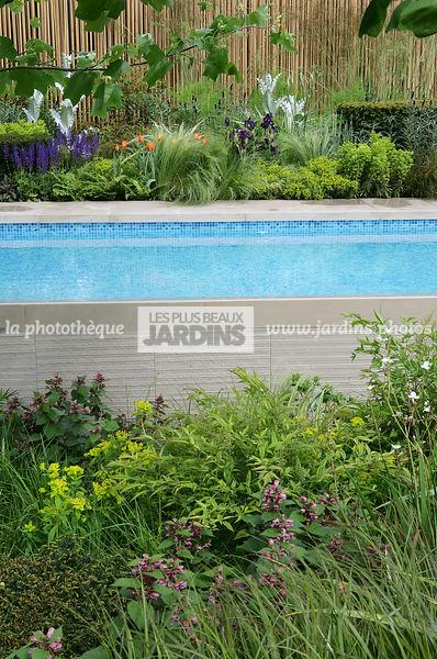 la photothèque | LES PLUS BEAUX JARDINS | Piscine hors-sol, Massif ...