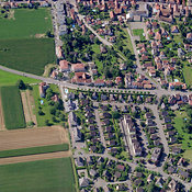 Alsace aerial photos