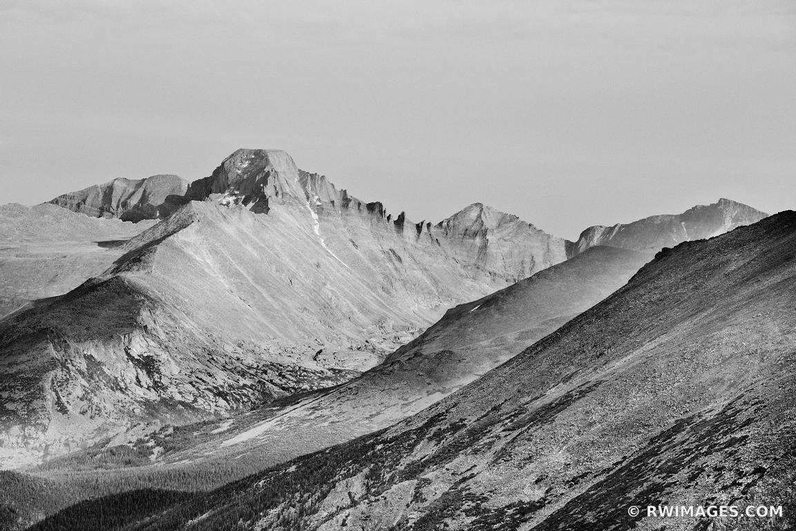 Photo print of longs peak rocky mountain national park for Large photographic prints for sale