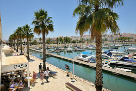 Marina of Lagos, Algarve, Portugal