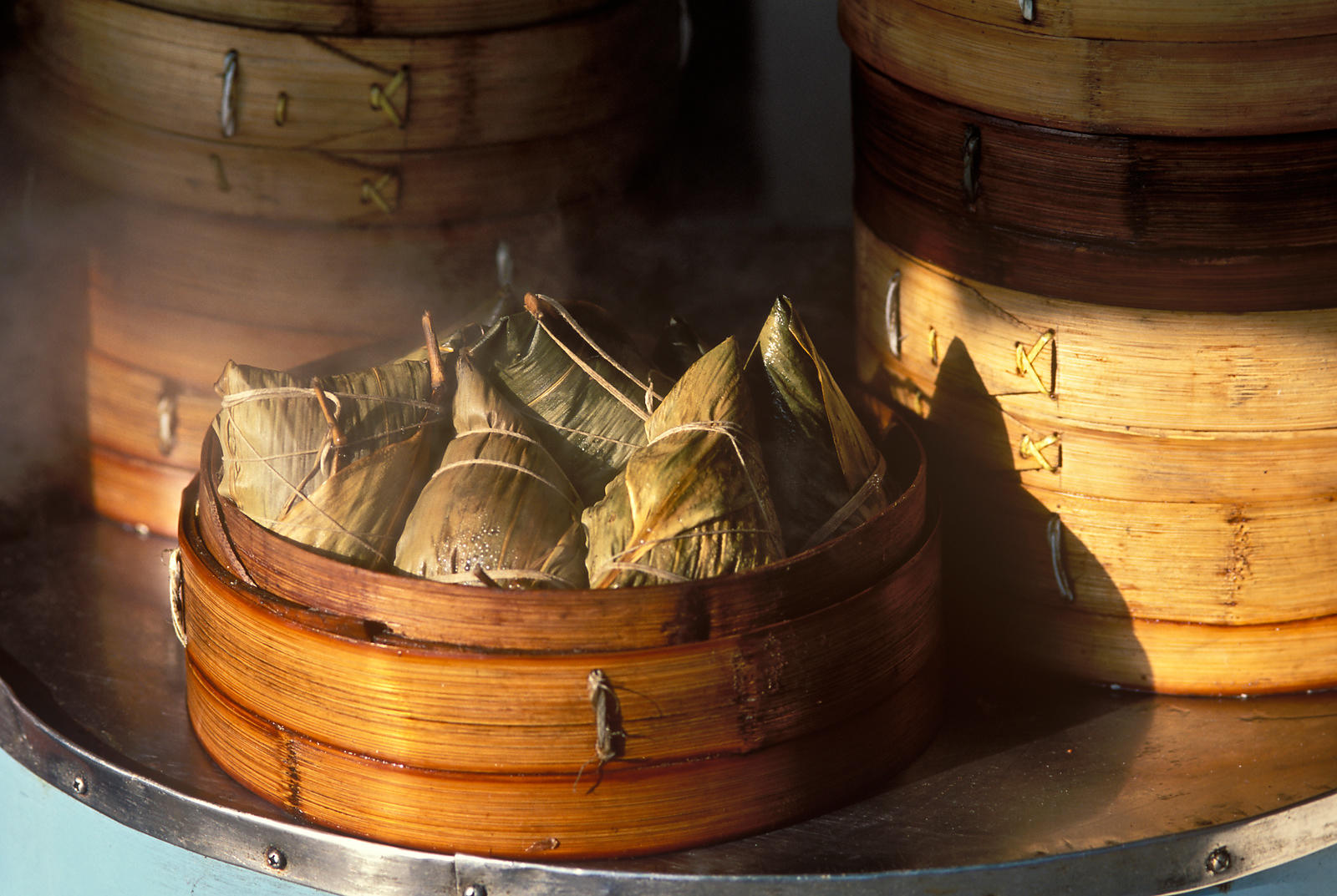 steamed sticky rice