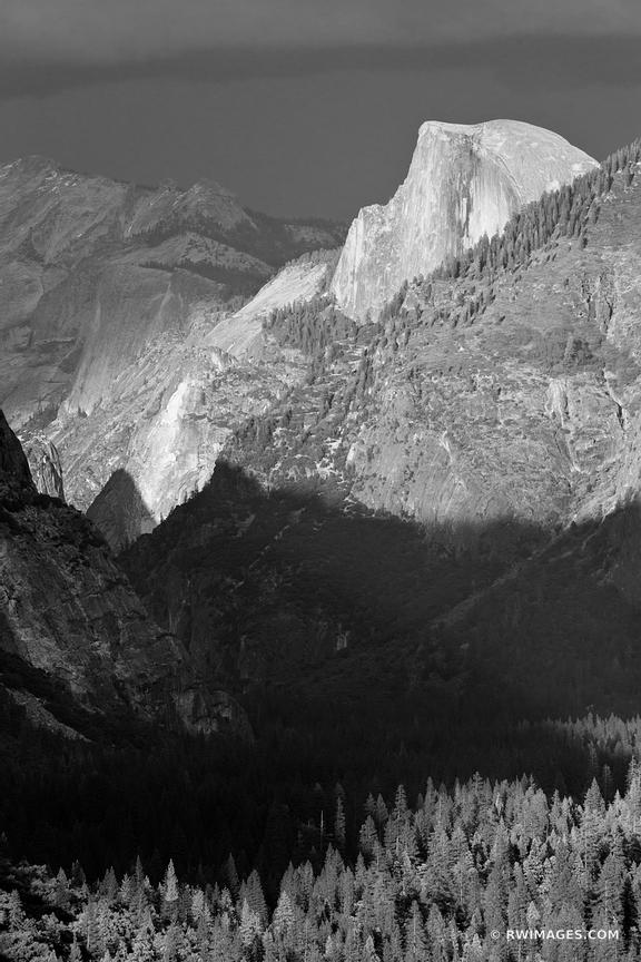 Photo print of half dome at sunset tunnel view yosemite for Buy fine art photography