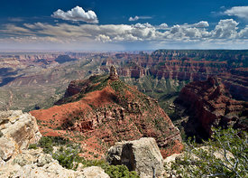 Mount Hayden from Point Imperial, Grand Canyon