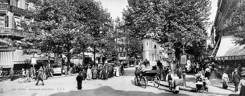 Parisparvu boulevard saint denis paris 2 me for Garage bon accueil saint denis