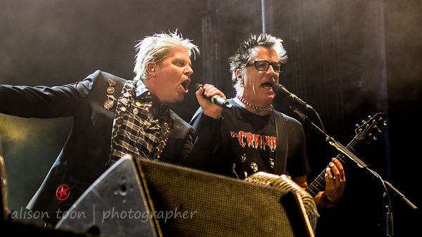 Dexter Holland and Noodles, The Offspring, Aftershock 2014, Sacramento