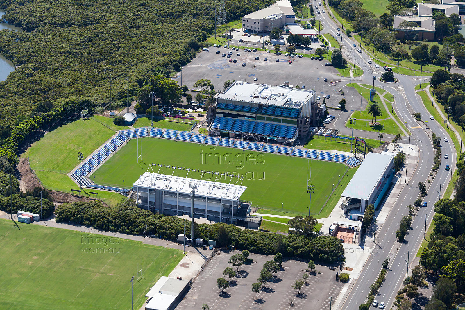 Sydney Aerial Photography Toyota Stadium Cronulla
