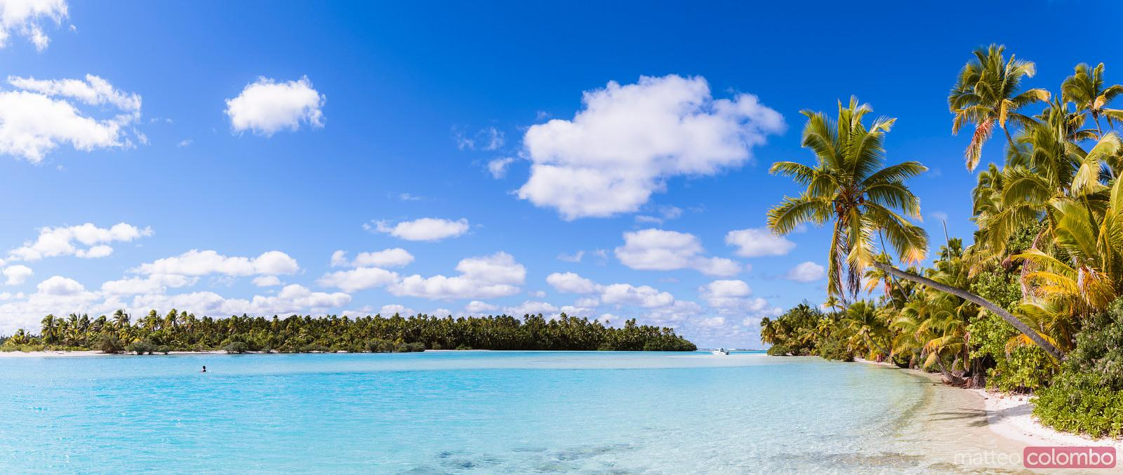 matteo colombo travel photography one foot island panoramic aitutaki cook islands stock. Black Bedroom Furniture Sets. Home Design Ideas