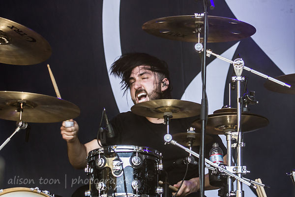 Valentino Arteaga, Of Mice and Men, Aftershock 2014